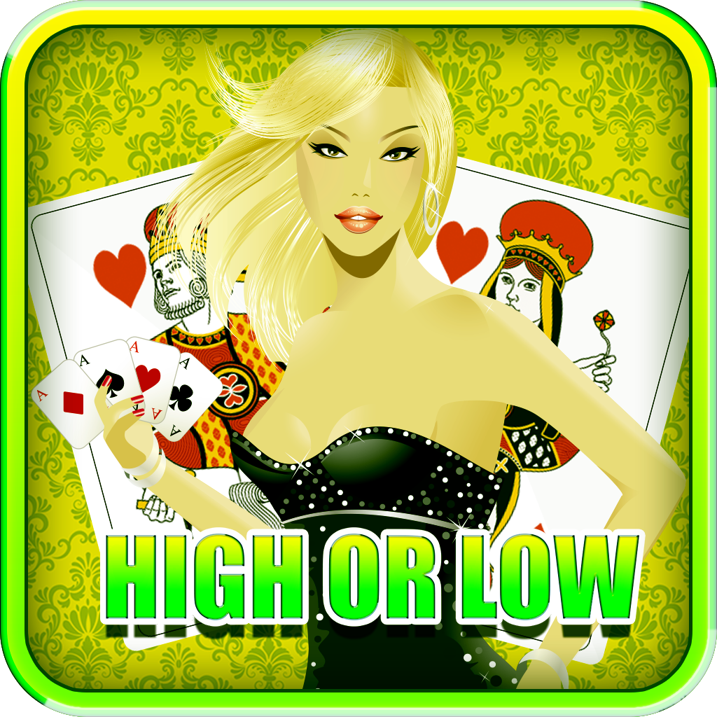 Ace Vegas Casino High Or Low 777 - Card Game Gold